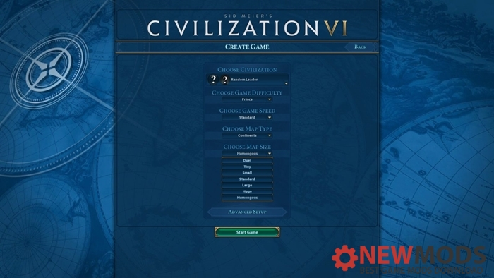 Photo of Civ 6 – HumonGous Map Size