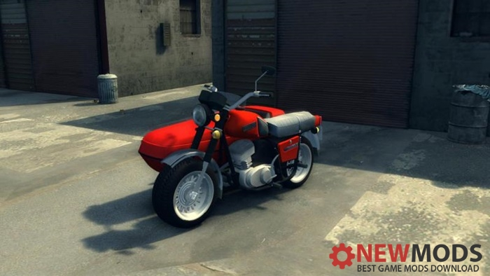 Photo of Mafia 2 – IZH Planeta 5 Motorcycle Mod