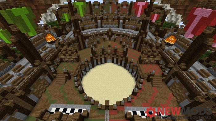 Photo of Minecraft – Two vs Two Parkour Map