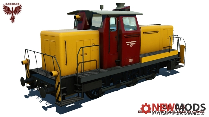 Photo of Transport Fever – V60 Repaint: NSB Di 5