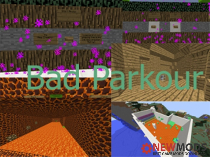 Photo of Minecraft – Bad Parkour Map