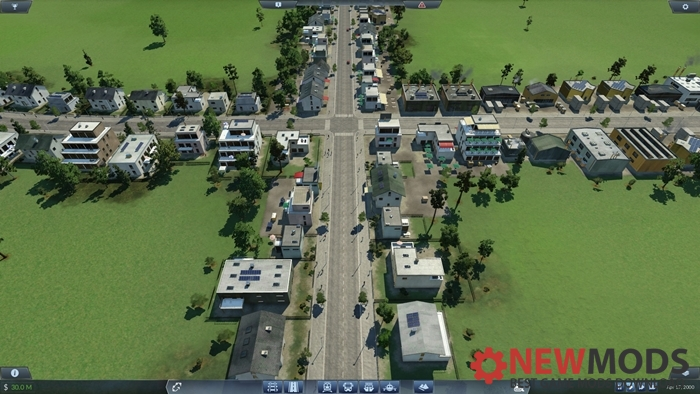 Photo of Transport Fever – Flat 9 City Grid Map