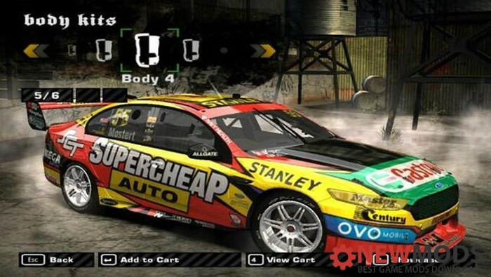 NFS Most Wanted - Ford Falcon V8 - Newmods Net PC Game Mods