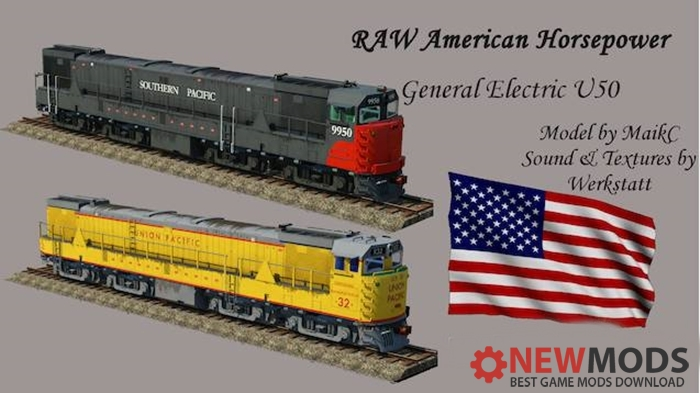 Photo of Transport Fever – GE U50 – Union Pacific und Southern Pacific