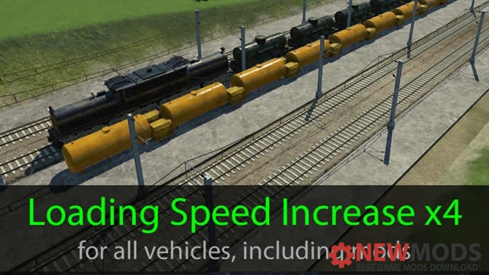 Photo of Transport Fever – Loading Speed Increase x4