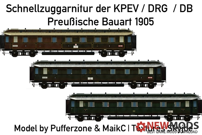 Photo of Transport Fever – Prussian Coaches 4ue (Design 1905)