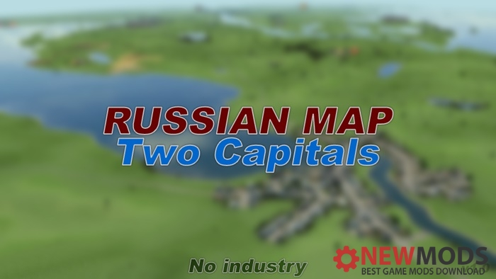 Photo of Transport Fever – Russian Map Two Capitals No industry