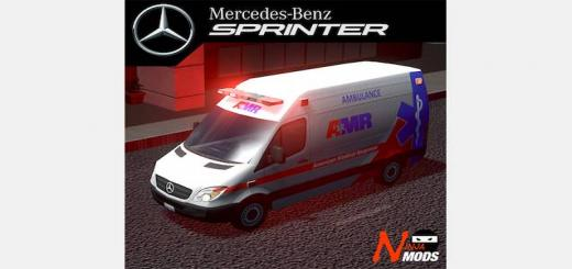 Photo of Cities Skylines – 2017 AMR Mercedes Sprinter Type II Ambulance