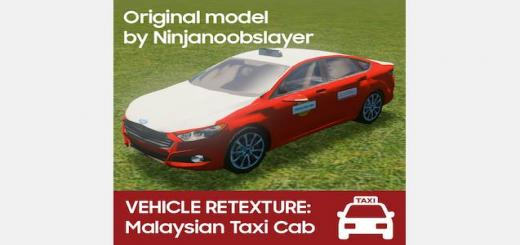 Photo of Cities Skylines – Ford Fusion/Mondeo Malaysian Taxi