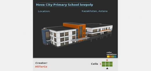 Photo of Cities Skylines – Nova City Primary School lowpoly