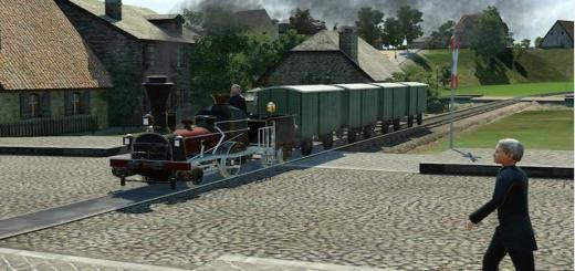 Photo of Transport Fever – 1850 Narrow Gauge Loco and Wagons