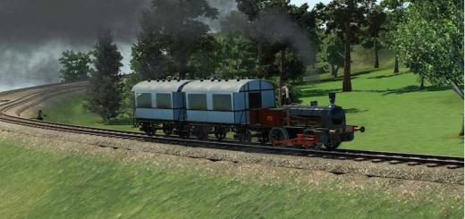 Photo of Transport Fever – 1870 Narrow Gauge Tank Engine and Coach