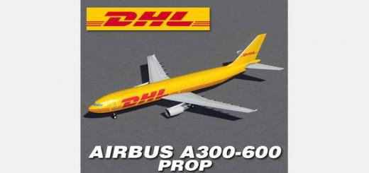 Photo of Cities Skylines – Airbus A300-600 – DHL Prop