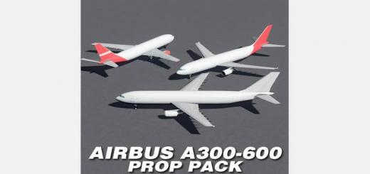 Photo of Cities Skylines – Airbus A300-600 – Generic Livery Prop Pack