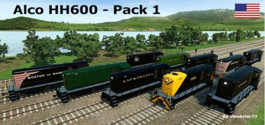 Photo of Transport Fever – Alco HH600 Pack 1 – Northeastern USA