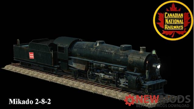 Photo of Transport Fever – Canadian National 2-8-2 Mikado Pack