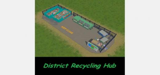 Photo of Cities Skylines – District Recycling Hub