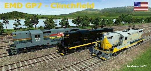 Photo of Transport Fever – EMD GP7 – Clinchfield