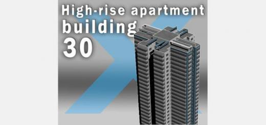 Photo of Cities Skylines – High-Rise Apartment Building 30