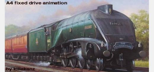 Photo of Transport Fever – LNER A4 Fixed Animations