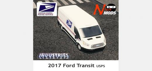 Photo of Cities Skylines – [MAIL] USPS 2017 Ford Transit