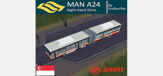 Photo of Cities Skylines – MAN A24 Articulated Bus (RHD)