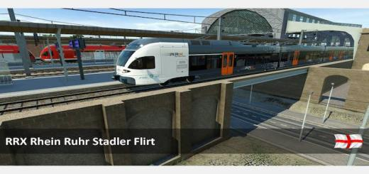 Photo of Transport Fever – MU_RRX_Stadler Flirt
