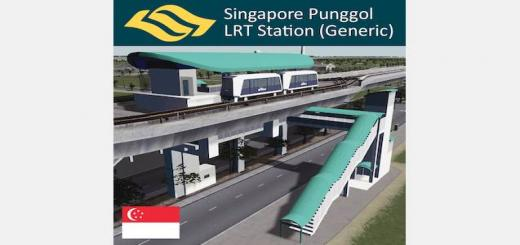 Photo of Cities Skylines – Punggol LRT Station (Generic), Singapore
