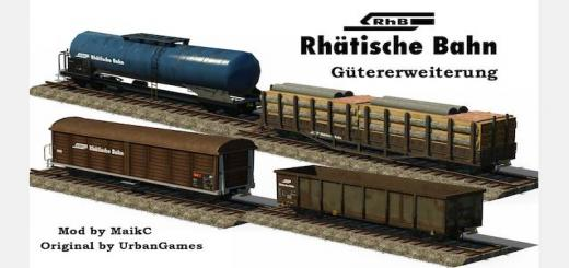 Photo of Transport Fever – RhB – Rhaetian railway – freight traffic