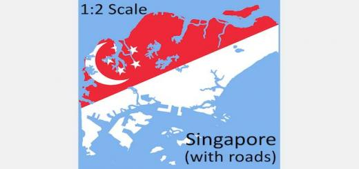 singapore-1-2-scale-map-with-roads-520×245