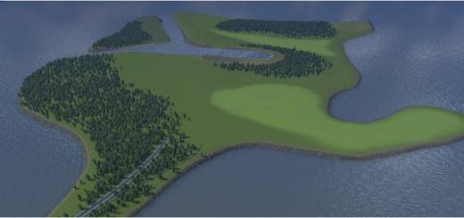 Photo of Cities Skylines – Small Island Map