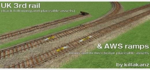 Photo of Transport Fever – UK Style 3rd rail & AWS ramps