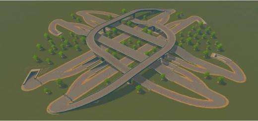 Photo of Cities Skylines – Bazz 5 Level Highway Cross