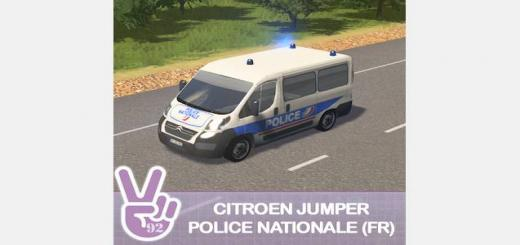 """Photo of Cities Skylines – Citroen Jumper """"Police Nationale"""" (France)"""