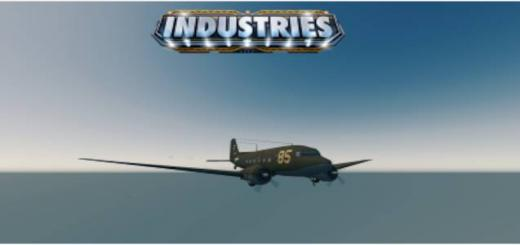 Photo of Cities Skylines – (Functional Propellers) C-47 Gooney Bird (Cargo Airplane)