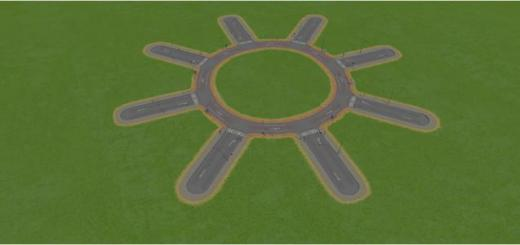 Photo of Cities Skylines – Gany's small 8-way circle