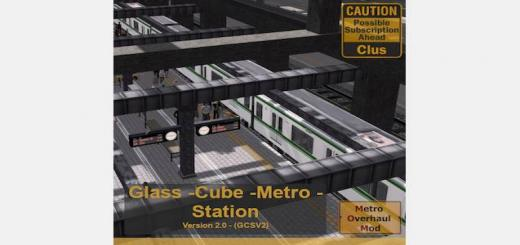 Photo of Cities Skylines – Glass Cube Metro Station V.2
