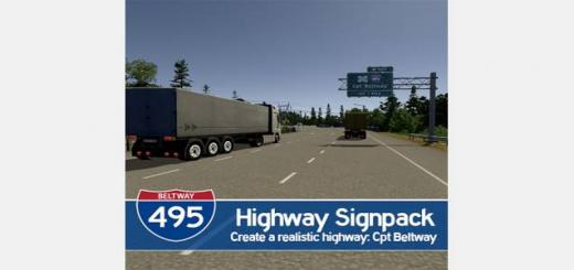 Photo of Cities Skylines – Highway Signpack: Cpt Beltway (I495)
