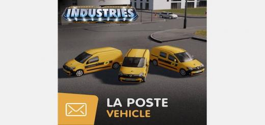 Photo of Cities Skylines – La Poste – Vehicle