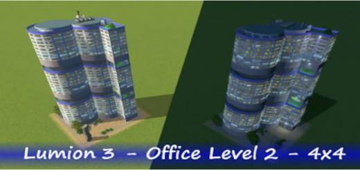Photo of Cities Skylines – Lumion 3 – Office lvl 2 – 4×4