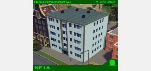 Photo of Cities Skylines – NE1A High Residential