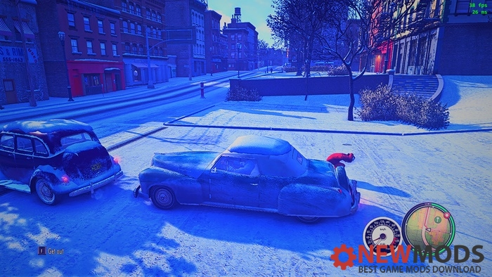 Photo of Mafia2 – New Speedometer & Crosshair (Mod Pack)