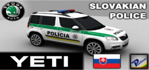 Photo of Cities Skylines – Škoda Yeti Slovakian Police