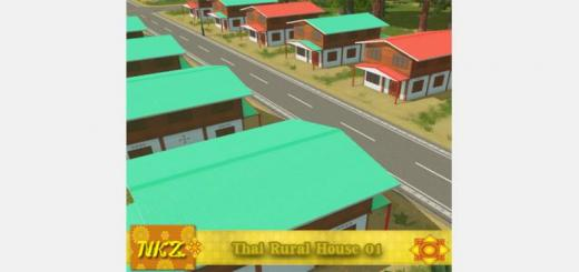 Photo of Cities Skylines – Thai Rural House 01