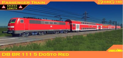 Photo of Cities Skylines – Train: DB BR111 5 DoSto Red