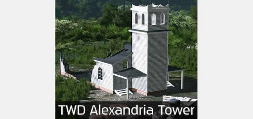 Photo of Cities Skylines – TWD Alexandria Tower