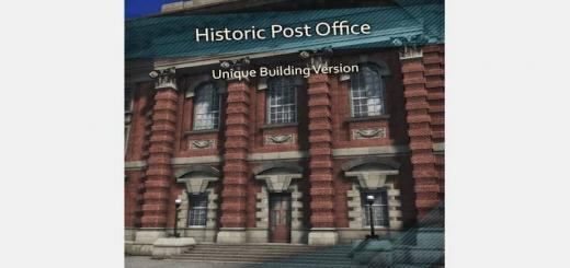 Photo of Cities Skylines – Historic Post Office – Unique Building Version