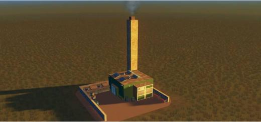 Photo of Cities Skylines – Mini Garbage Incinerator 2×2