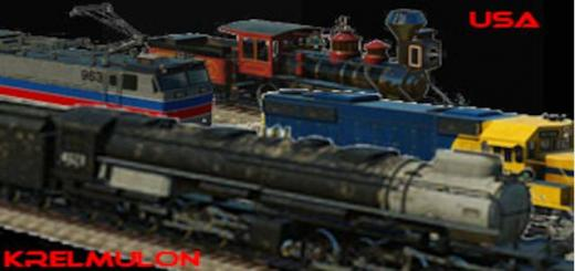 Photo of Transport Fever – USA Locomotives Assets