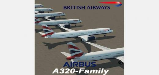 Photo of Cities Skylines – A320 Family: British Airways Pack